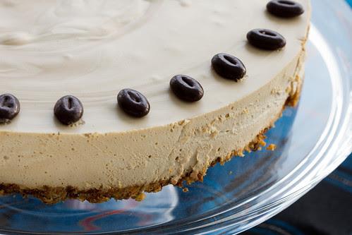 Kohvi-toorjuustukook / Coffee cheesecake