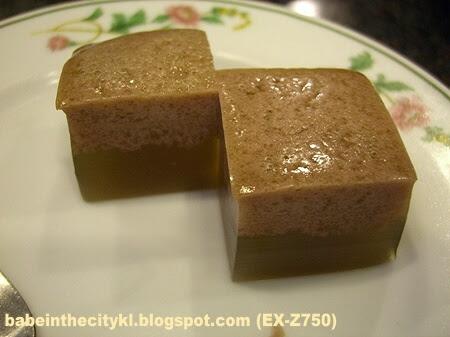 sr set menu dessert of the day - jelly