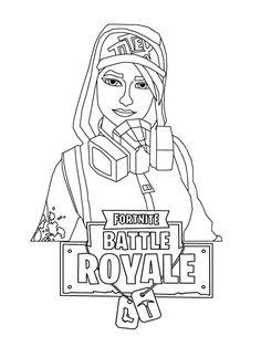 Coloriage Fortnite Skin Omega.Coloriage Du Sniper Semi Auto Fortnite Battle Royale Fortnite Free
