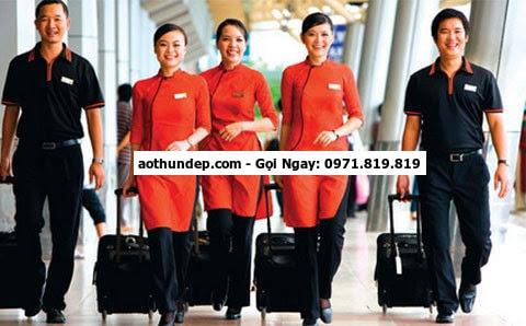 đồng phục tiếp viên hàng không nhật bản