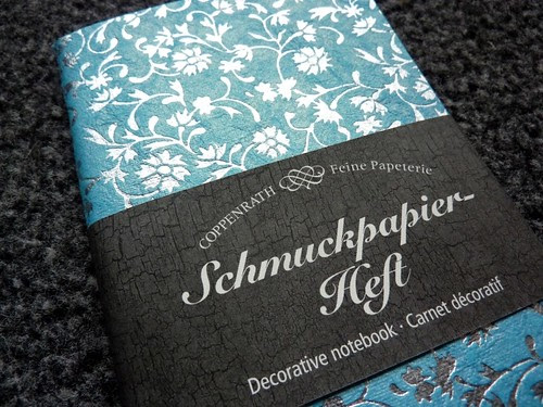 new notebook | schmuckpapierheft