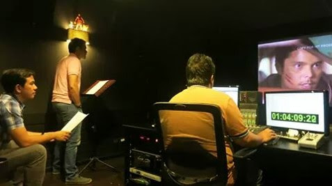 The VoiceMaster Voice Directing Actor Dingdong Dantes for the Movie Kubot