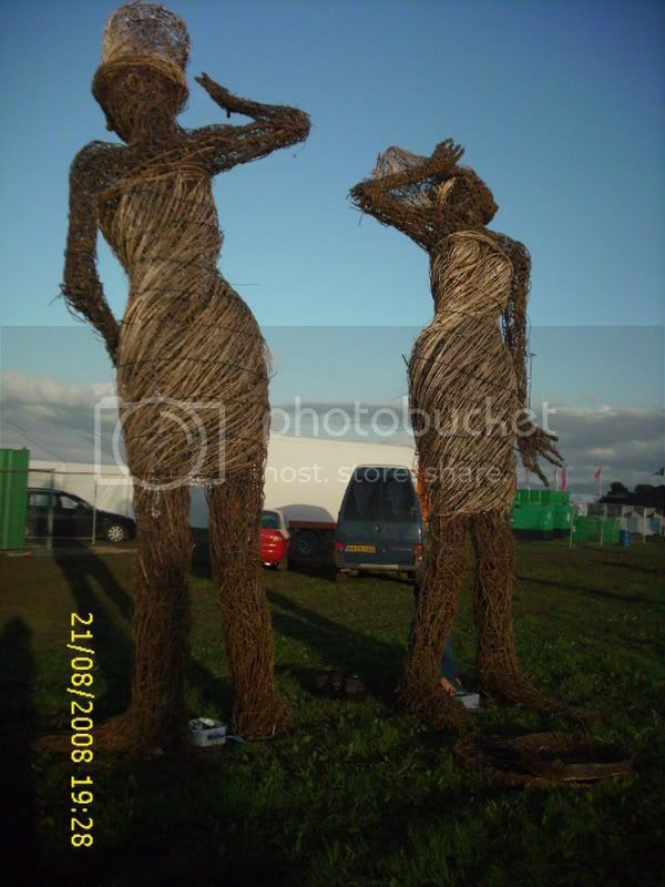 possibly recycled from womad..