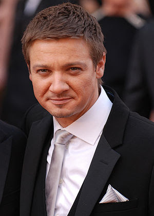 Jeremy Renner arrives at the 82nd Academy Awards.