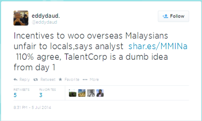 Twitter - eddydaud- Incentives to woo overseas