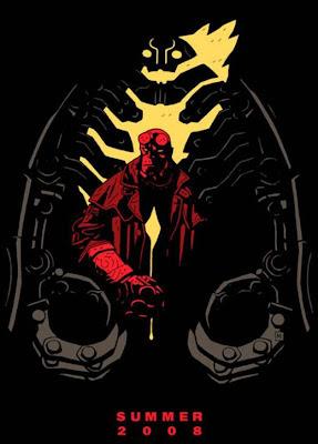 Creator Mike Mignola Hellboy II teaser movie poster