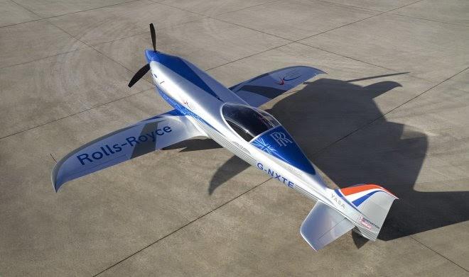 Rolls-Royce приступает к испытаниям самого быстрого электросамолета в мире