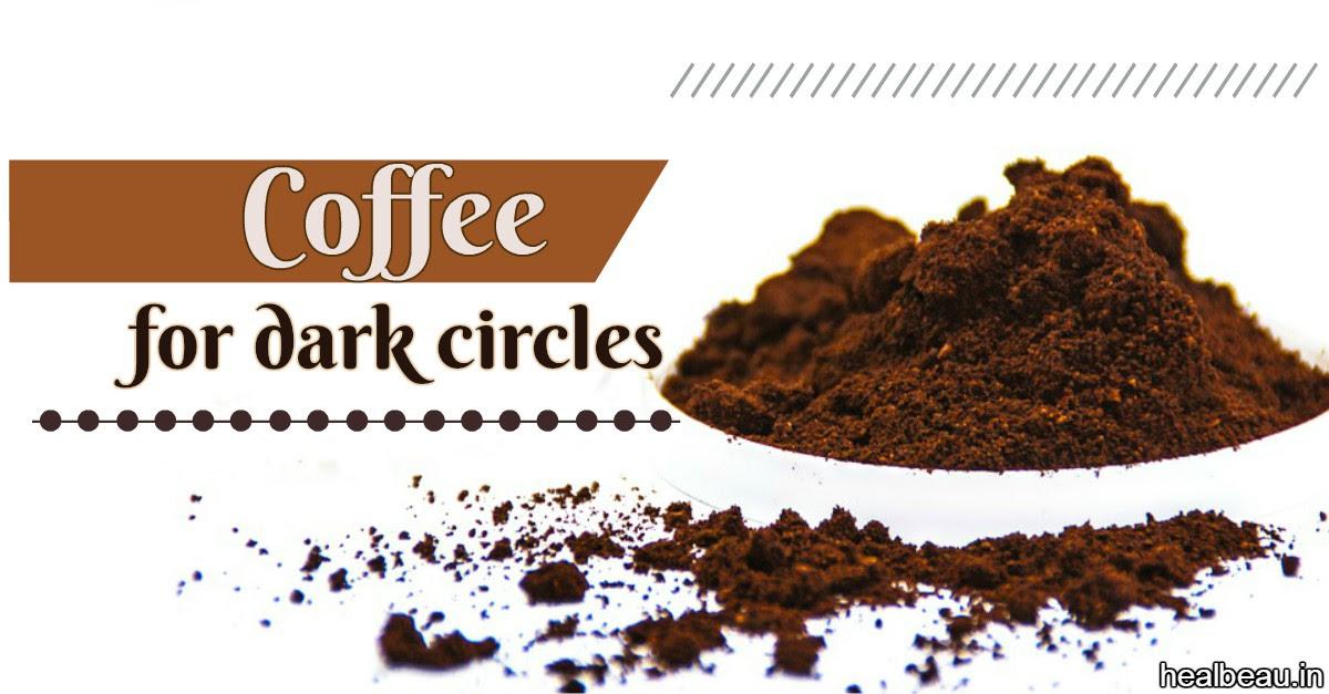 Coffee Mask for Treating Dark Circles & Puffy Eyes