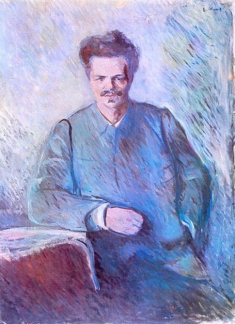 August Strindberg (Edvard Munch)