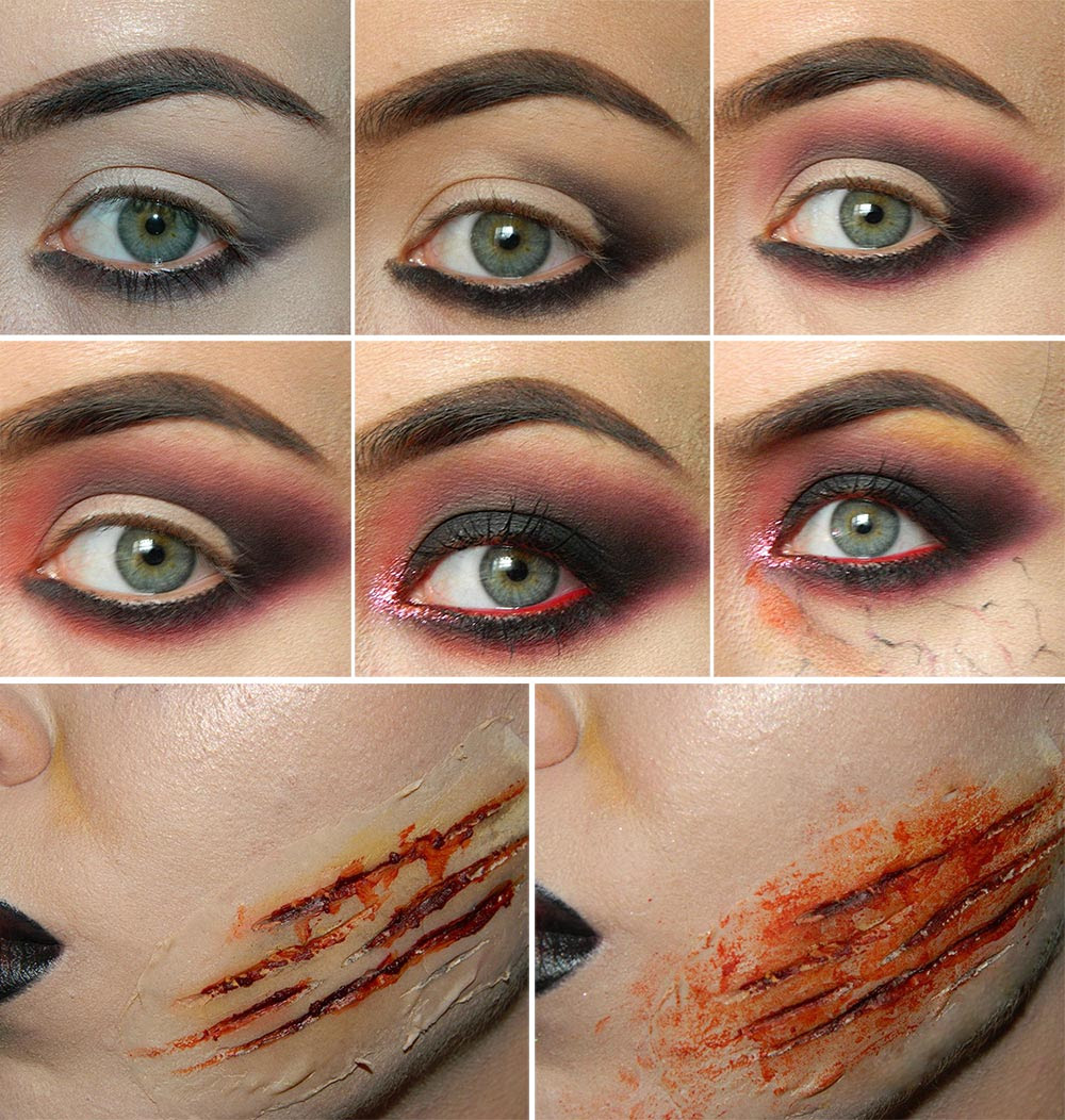 Zombie Makeup Tutorial for Halloween | Fashionisers