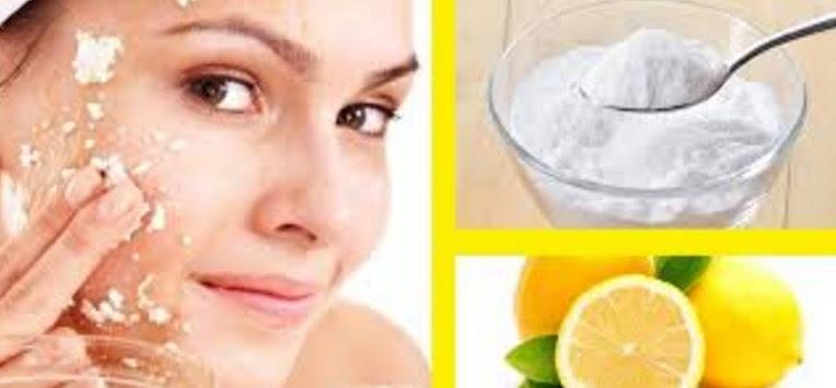 Mascarilla De Bicarbonato Y Limón Para Blanquear Y Proporcionar