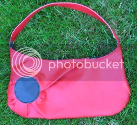 the purse. i do like the shape.