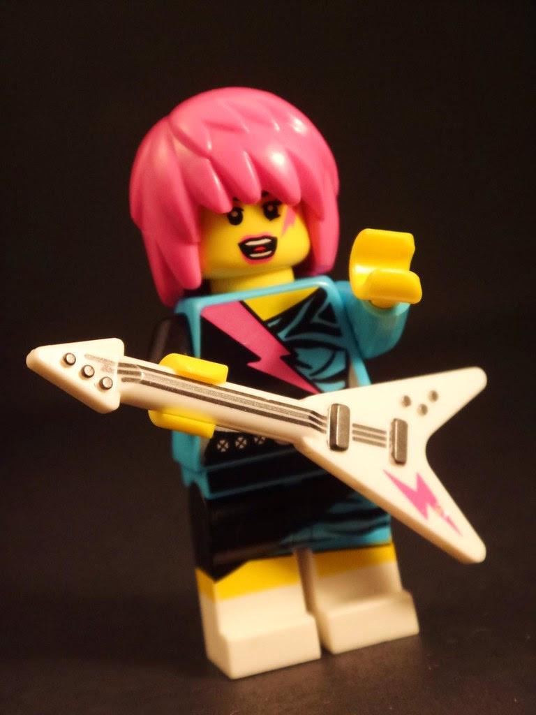 LEGO minifig series 7 rocker girl