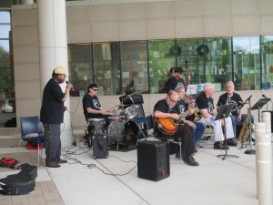 Band plays at the Orland Park Library, ranked one of the best libraries in the Midwest