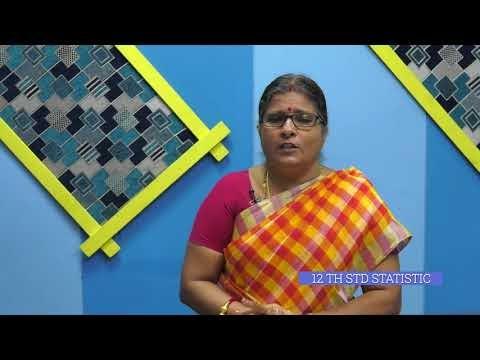 12th Statistics மாதிரிப்பரவல் அடிப்படையிலான சோதனைகள் அலகு 2 பகுதி 2 Kalvi TV