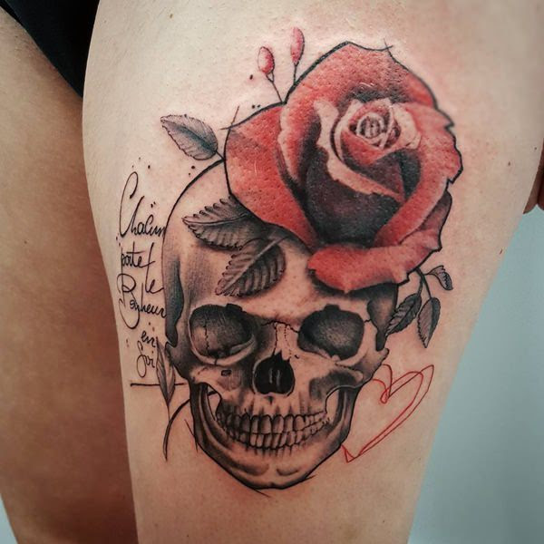 Skull Tattoo Ideas For Women Exploring Meaning Placement