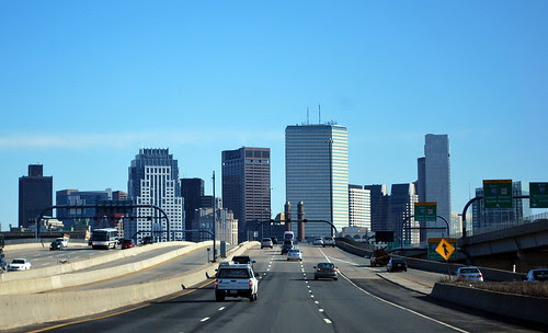 Driving Through Boston
