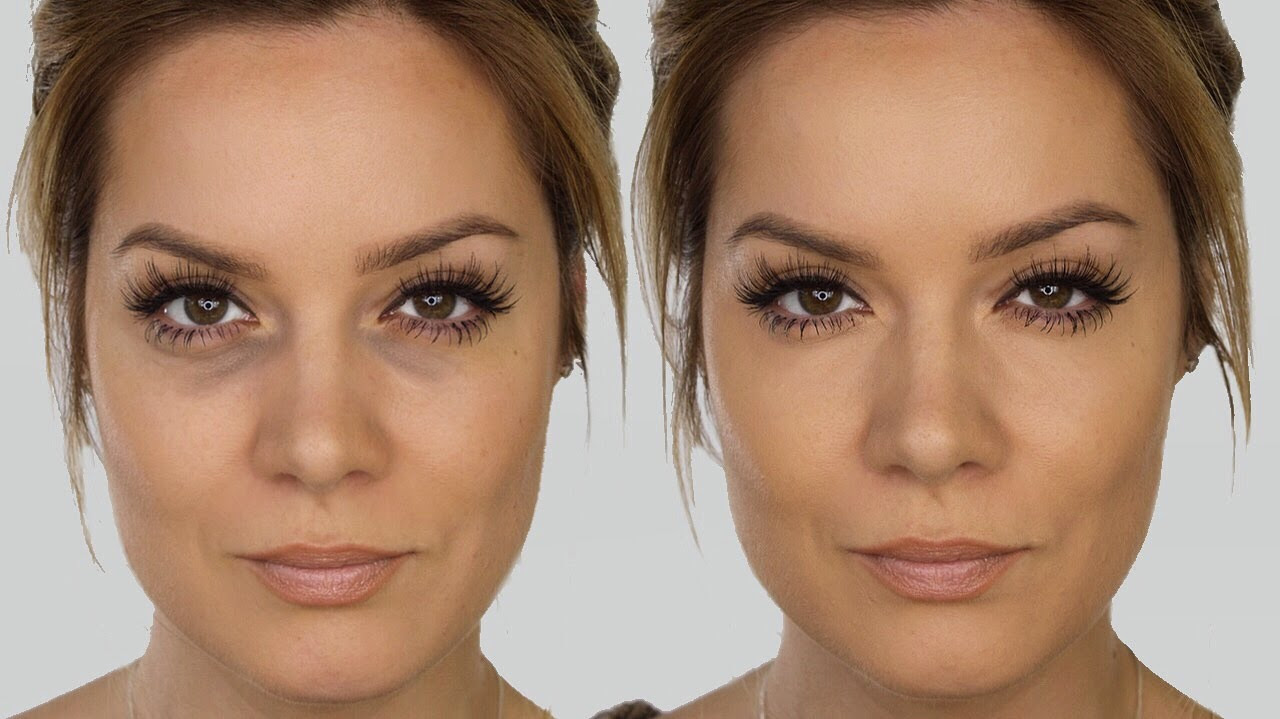 How to correct your dark circles with makeup (for a ...