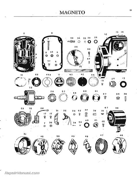 Oliver 70 Series Tractor Parts Manual