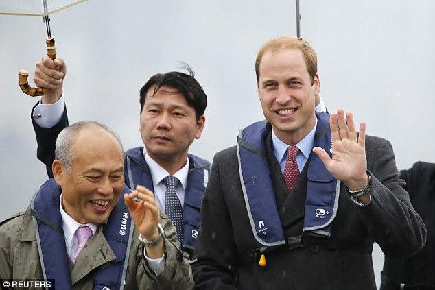 1 dzień księcia Williama w Japonii / Książę Harry w Frankham Woods + więcej.