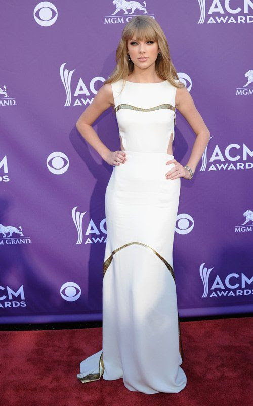 Academy of Country Music Awards - April 1, 2012, Taylor Swift