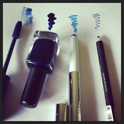 Preparing myself for Notti Blu:) Preparandomi per Notti Blu:) @unfilodi