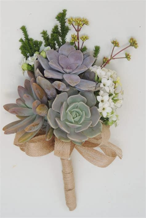Bridesmaid succulent bouquet