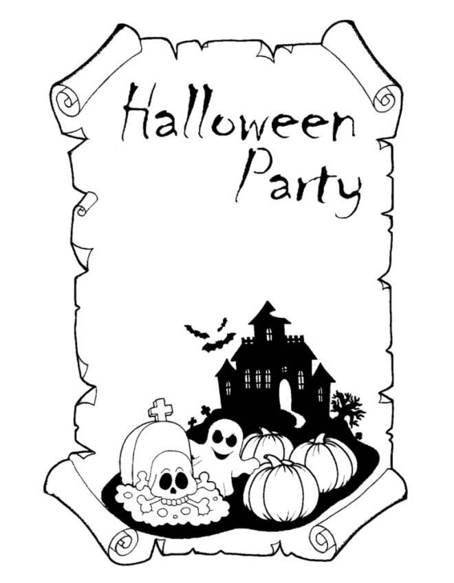 Disegni Di Halloween Da Colorare E Stampare Page 2