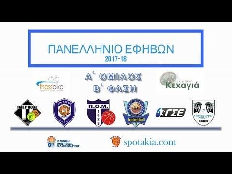 Στιγμιότυπα από το παιχνίδι Διόσκουροι Κοζάνης-Ελευθερούπολη για τα προκριματικά Βορρά για το Πανελλήνιο εφήβων
