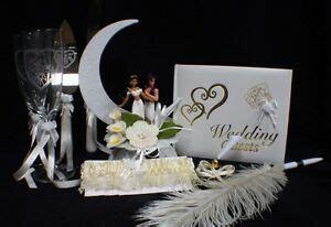 Aladdin & Jasmin Wedding Cake Topper Glasses Server Book
