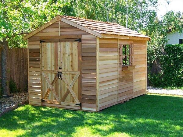Build DIY Wood Pallet Shed | Pallet Furniture DIY