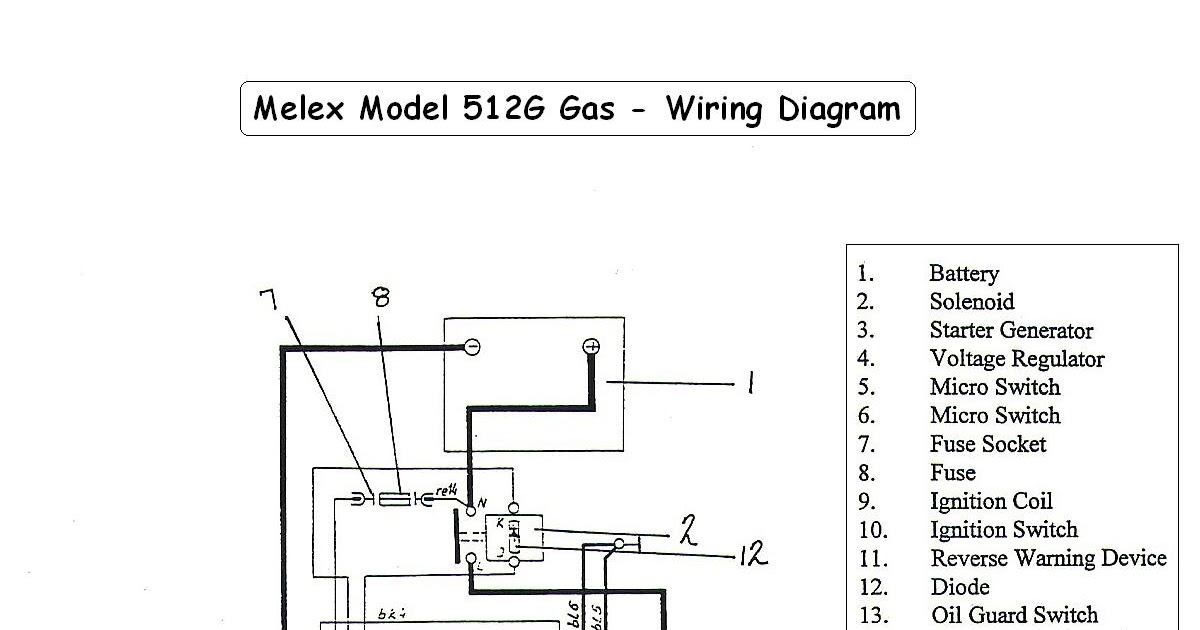 Top Gt Melex Wiring Diagram Melex512g