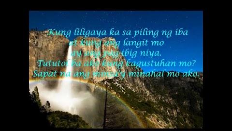Kung Liligaya Ka Sa Piling Ng Iba Imelda Papin Lyrics