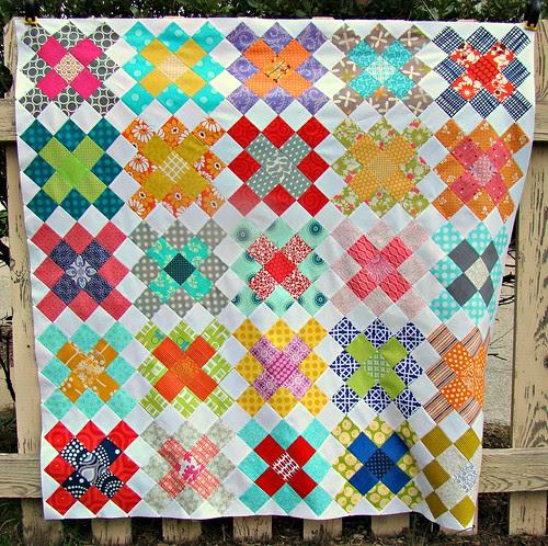 Granny Squares Quilt Top