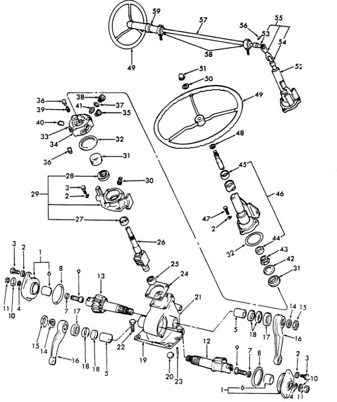 5000 ford tractor electrical wiring diagram wiring