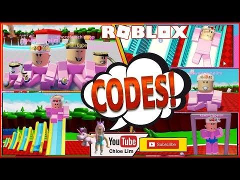 Roblox Baby Simulator Gameplay! 5 Codes! Wee Wee Wee Wee ...