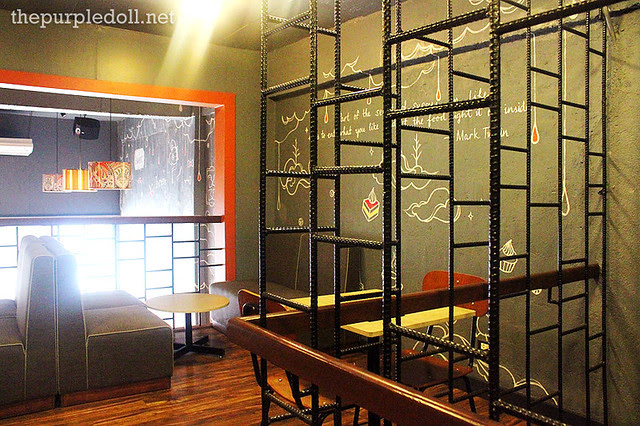 Mezzanine at The Sweet Spot Cafe Maginhawa