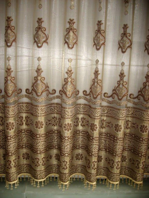 Luxury European Style Jaquard Window Curtains/ Drapes - Buy ...