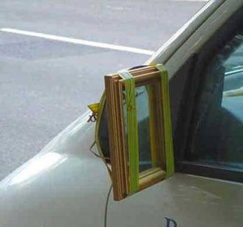 Funny Car Mirror