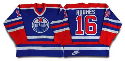 Edmonton Oilers 84-85 Jersey