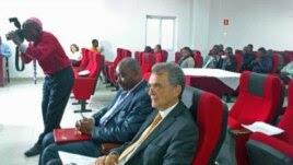 Participantes da conferência dos Direitos Humanos e Sociedade Civil, em Luanda