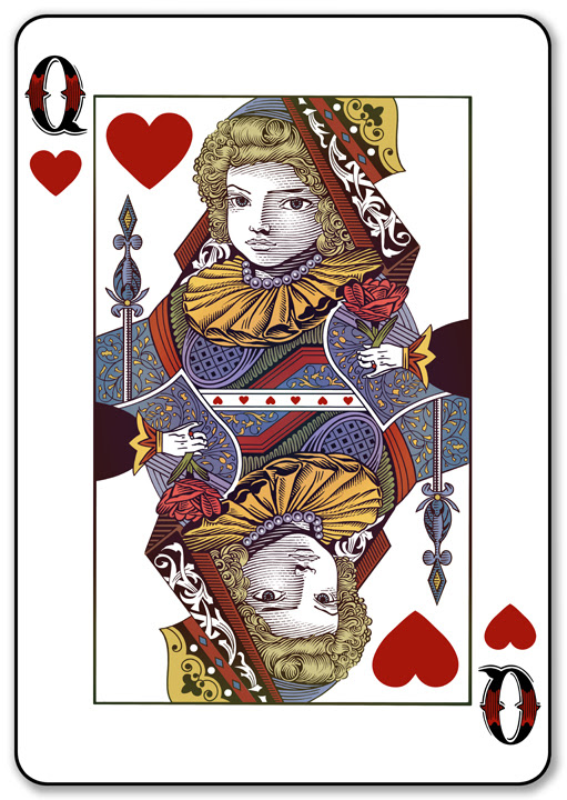 Queen of Hearts Roger Xavier