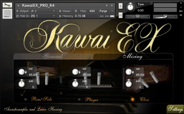 KAWAI-EX PRO