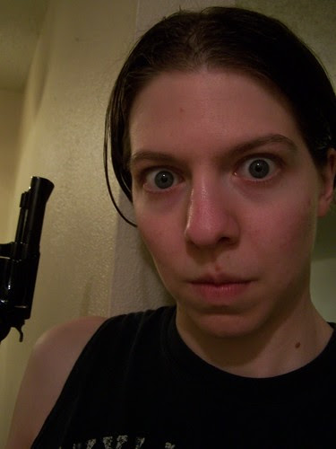 june 2130 I look scarier with a gun