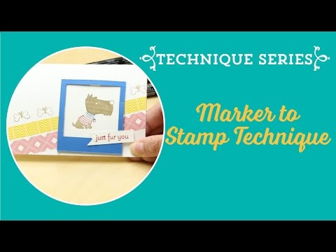 Stampin' Write Markers - What's one of those then??