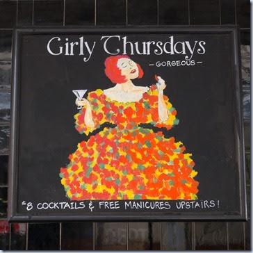 girly thursdays