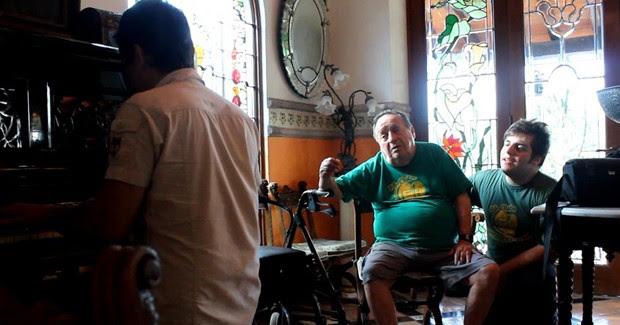 Maurício Trilha Roberto Bolaños Chaves (Foto: Maurício Trilha/Arquivo Pessoal)