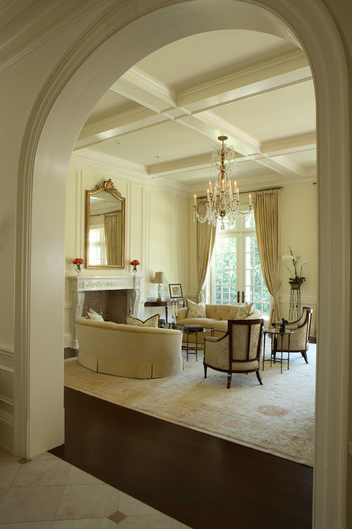 Buckhead traditional living room