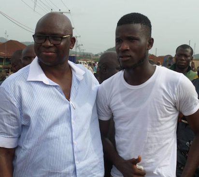 Gov Fayose gives Corps Member automatic employment