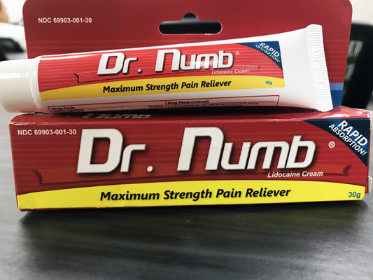 Dr Numb Avoid Pain When It Comes To Beauty